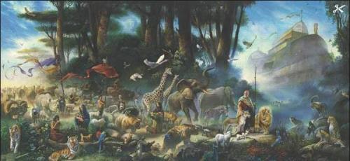 Illustrazone anonima dell'Arca