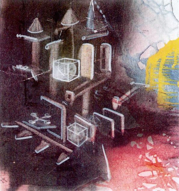 Sebastian Matta, Terre homme-1975