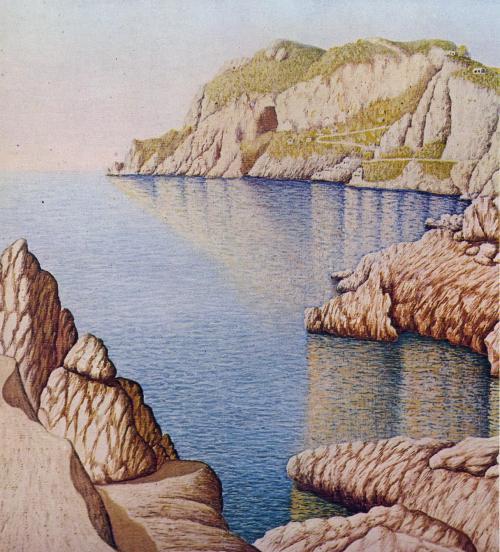 Ugo Astarita Passeggiata sul mare