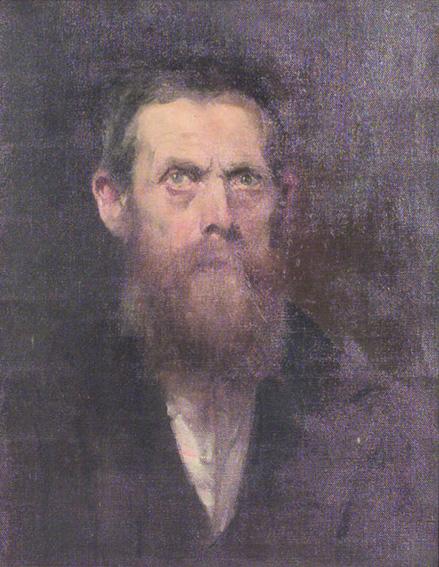 Eugen von Blaas - autoritratto