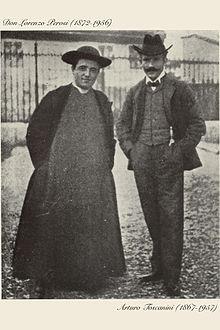 Perosi e Toscanini
