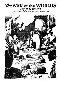 h04dic-ore12-wells-guerramondi-War_of_the_Worlds_original_cover_bw