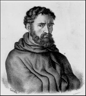 05-Fra Dolcino, litografia di Michel Doyen, 1809-1881