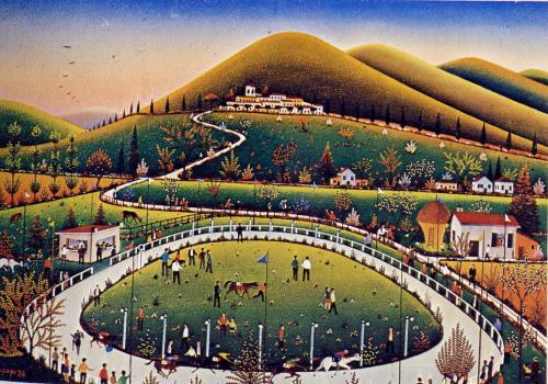 Armando Lupi-La corsa dei cavalli