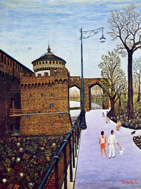 Enrico Fereoli-Passeggiata al castello