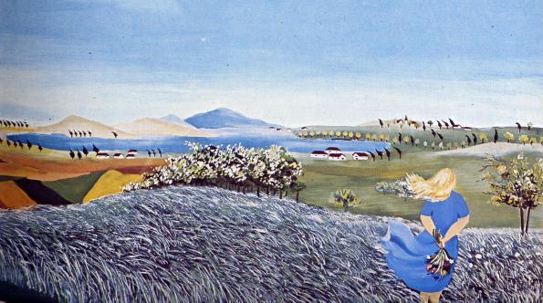 Giuliana Mari-Paesaggio lacustre
