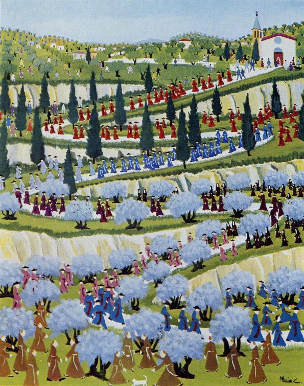 Marino Ceccarelli-La Processione