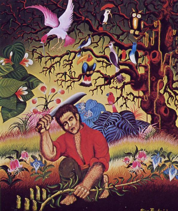 Piero Marchesini-Foresta tropicale