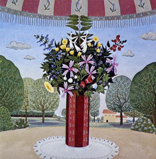 Viviane Goutard-Vaso di fiori