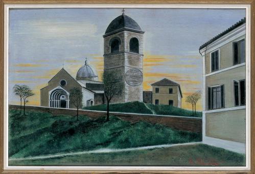 Orneore Metelli-Chiesa romanica
