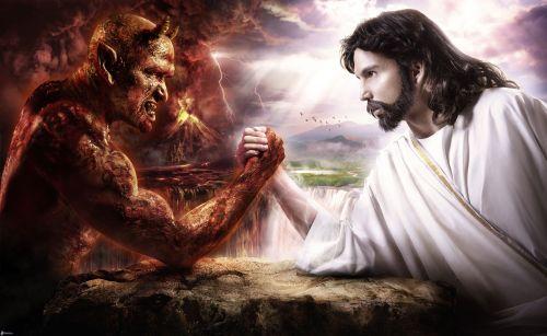30aprilegesu vs satana, battaglia, bene e male 149086