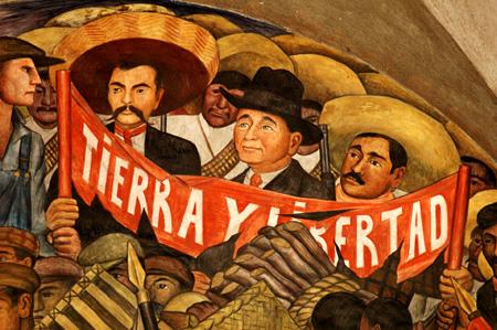 Murales di Diego Rivera - Dettaglio