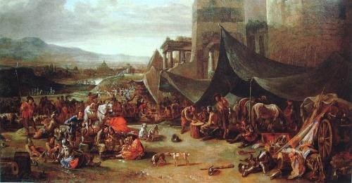 05maggio-Sacco-di-Roma-Johannes-Lingelbach-XVII-sec.