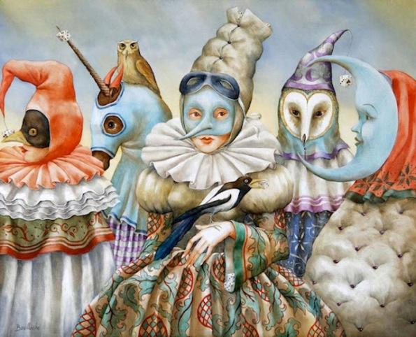 Agnes Boulloche paint