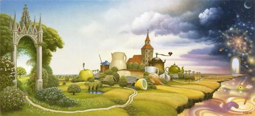 Jacek-Yerka-Road