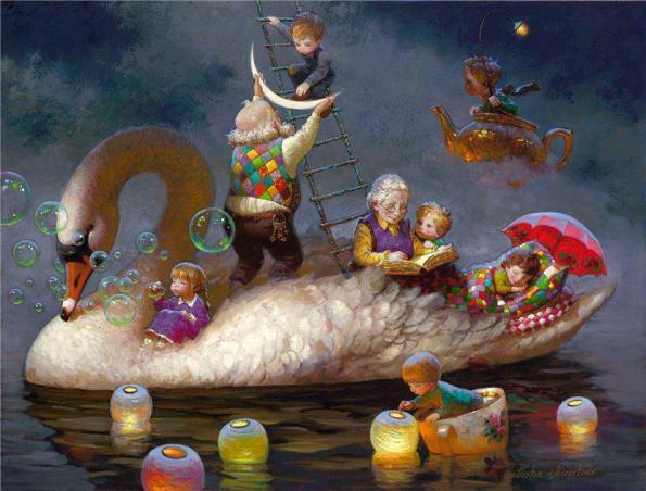 Victor Nizovtsev_Floating on a Dream