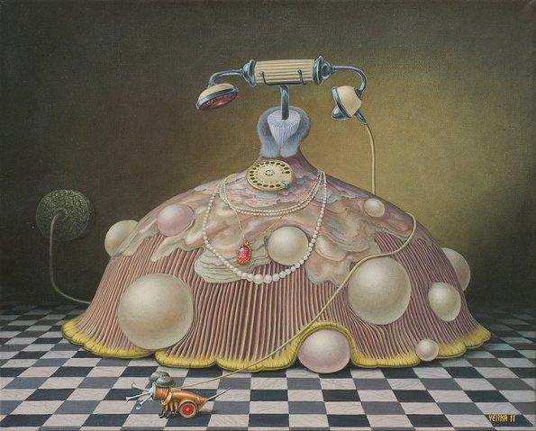 Jacek Yerka 1952 - Polish Surrealist painter - Tutt'Art@ (2)